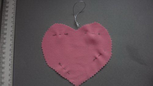 Зафиксировать части сердца