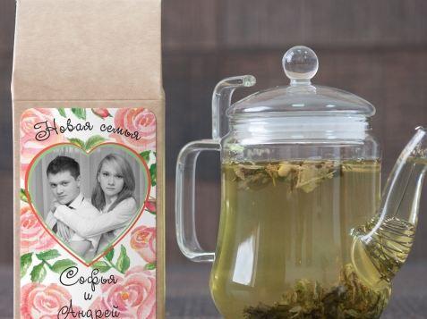 Зеленый чай для новобрачных