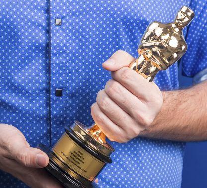 Оскар с гравировкой