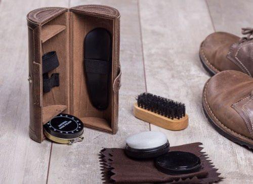 Подарочный набор для чистки обуви безупречный блеск