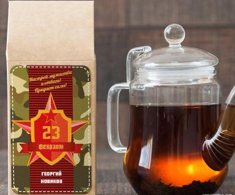 Черный чай настой мужества