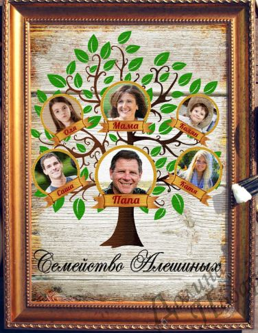 Картина семейное древо