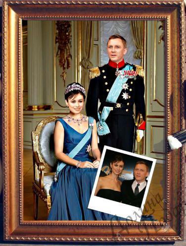 Парный портрет принц и принцесса