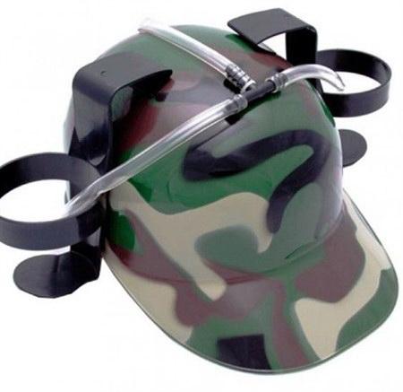 Пивная каска армейская
