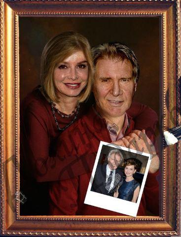 Портрет счастливые супруги