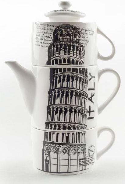 Чайный набор пизанская башня
