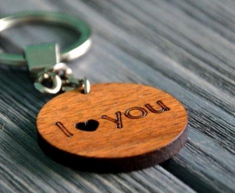 Брелок I love you