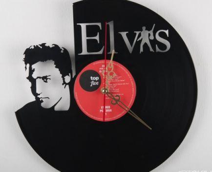 Часы Элвис из виниловой пластинки