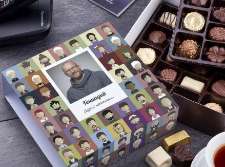 Бельгийский шоколад душа компании