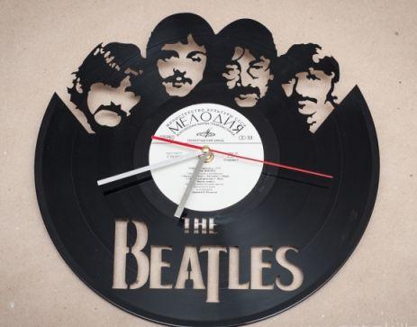 Виниловая пластинка часы битлз