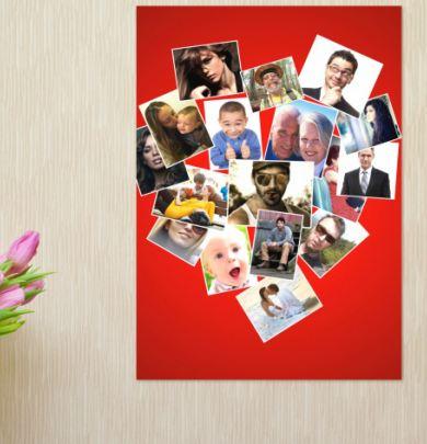 """Постер на стену """"Люблю"""""""