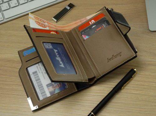 Именной кошелек портмоне Статус внутри