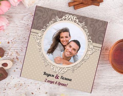 Фотонабор конфет счастливы вместе