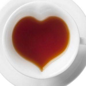 Набор чашки сердца