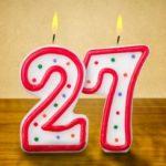Что подарить парню на 27 лет