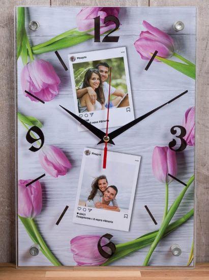Настенные часы счастливые мгновения