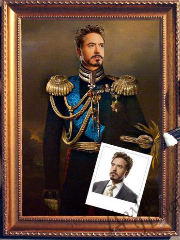 Портрет по фото кавалерист