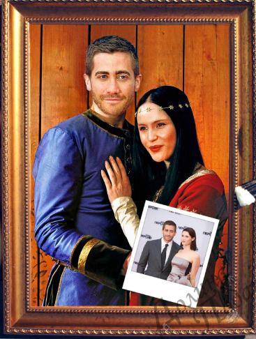 Парный портрет сказочная пара