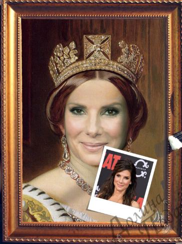 Портрет по фото королева