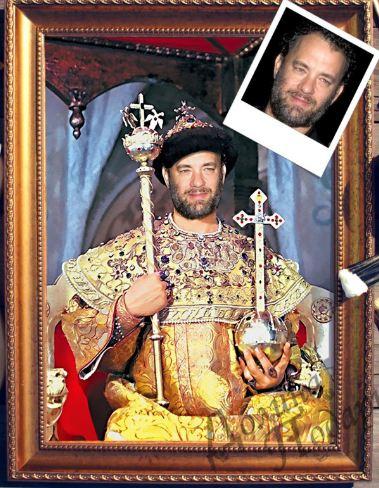 Портрет по фото царь