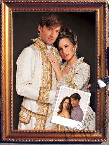 Портрет роскошная пара