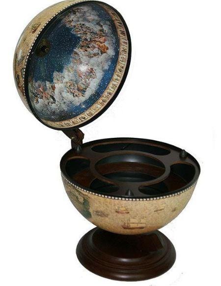 Глобус бар сокровища древнего мира