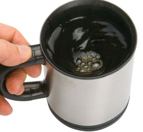 Кружка размешивающая чай
