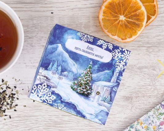 Травяной чай снежный вечер