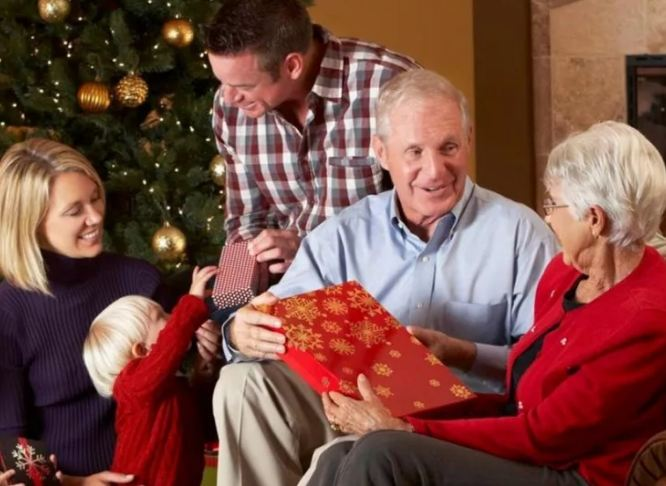 Подарки родителям на Новый год