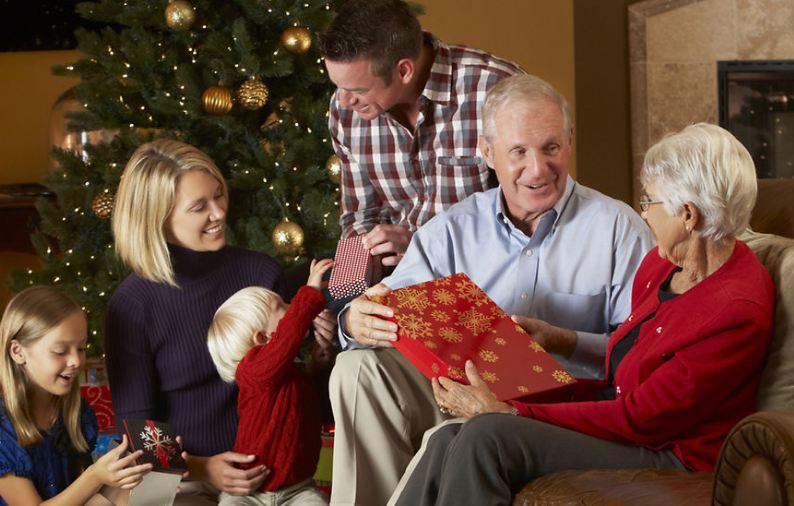 Новогодний презент деду