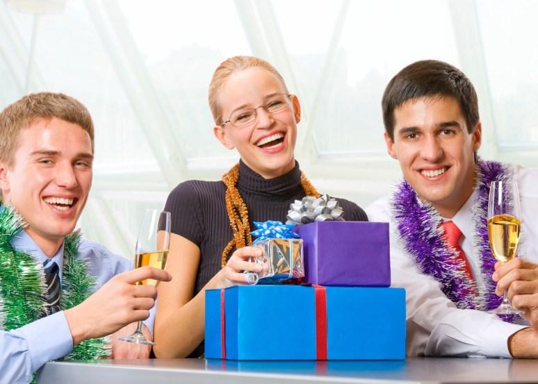 Подарки коллегам на Новый год
