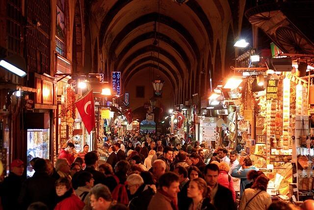 восточный базар в Турции