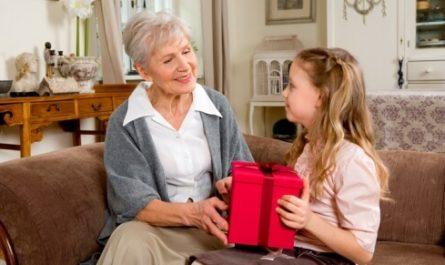Подарок внучке