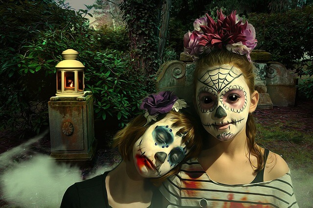 Дети в Хэллоуин
