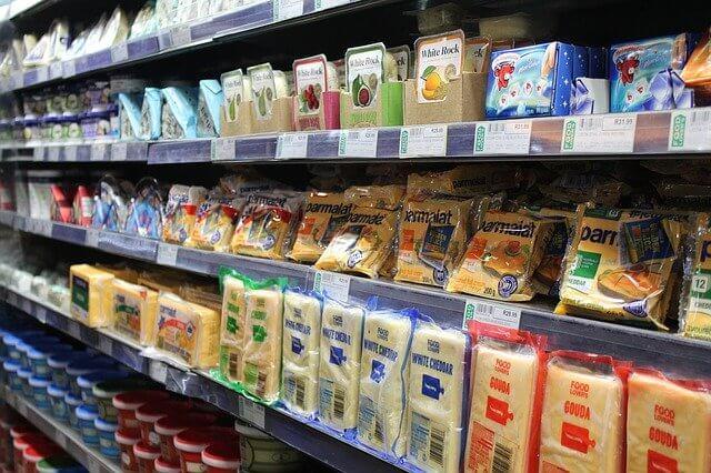 Освещение в супермаркетах