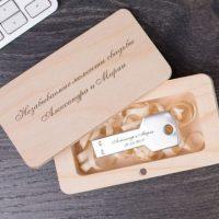 USB-флешки с гарвировкой