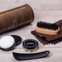 Подарочный набор для чистки обуви