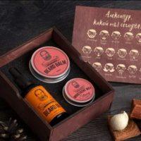 Подарочный набор для ухода за бородой и усами