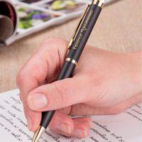 Именная ручка с гравировкой в подарок